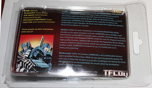 Headrobots - - - Garrison (TFCon Exclusive) 1 100 Limited Edition for Grand Maximus 0ffaf8