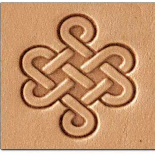 Celtic Knot 3D Stamp 8589-00 by Tandy Leather