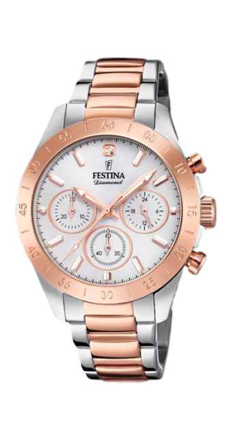 RELOJ FESTINA BOYFRIEND COLLECTION ACERO BICOLOR IP ROSE F20398/1
