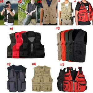 Men-Outdoor-Multi-Pocket-Vest-Travelers-Fly-Fishing-Photography-Quick-Dry-Jacket