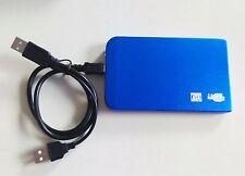 "blue New 250 GB external Portable 2.5"" USB 2.0 hard Drive HDD POCKET SIZE"