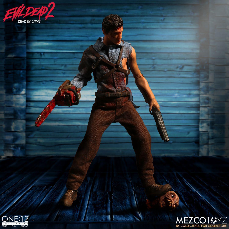 Mezco Evil Dead 2 Ash One 12 Collective Dead by Dawn Action Figure