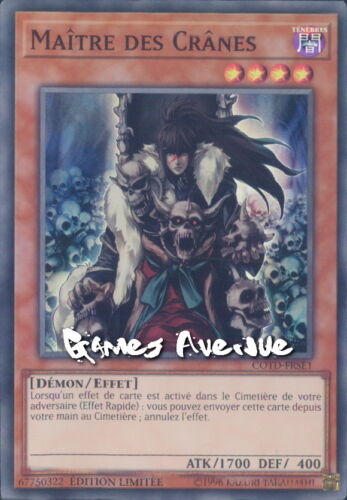 Yu-Gi-Oh ! Maitre des Cranes COTD-FRSE1 (COTD-ENSE1) VF/SUPER