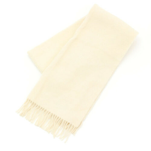 AUTHENTIC CHRISTIAN DIOR SPORT SCARF WHITE GRADE B USED AT