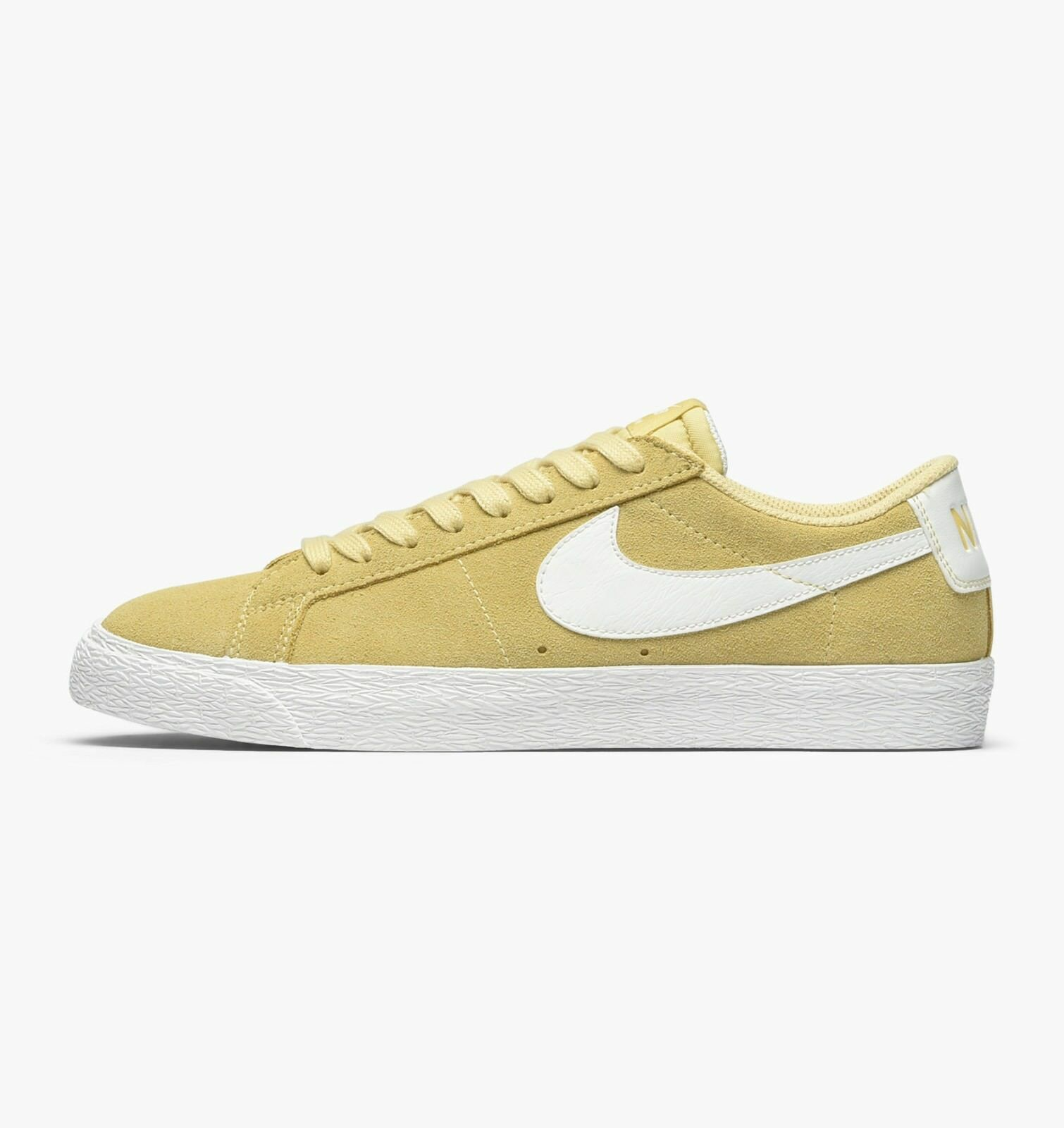 Nike SB - Blazer Low | Mens Skate Shoes - 864347-700 | Lemon Wash / White