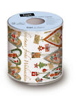 Christmas Father Santa Hearts Toilet Paper Bathroom Father Santa Xmas Gift