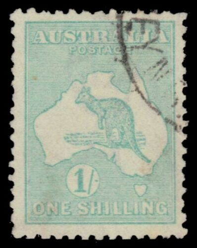 AUSTRALIA 51 (SG40) - Kangaroo and Map