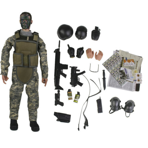 """12 /""""1//6 Armee Polizei Soldat NB02A Action Figure Modell Kinder Spielzeug"""