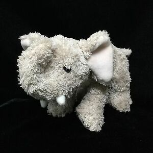 Living Playful Ellie Elephant Plush Gray 2001 Stuffed Soft Toy