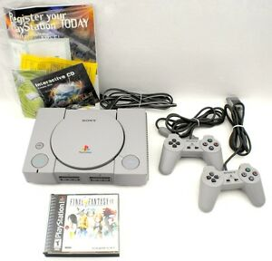 Sony-Playstation-1-Console-amp-Final-Fantasy-Game