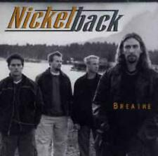 Nickelback: Breathe PROMO w/ Artwork MUSIC AUDIO CD RR 534 Worthy To Say Live 4t