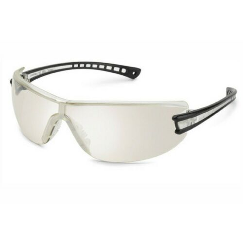Gateway Safety Luminary Safety Glasses 19GY8M Wraparound Silver Mirror