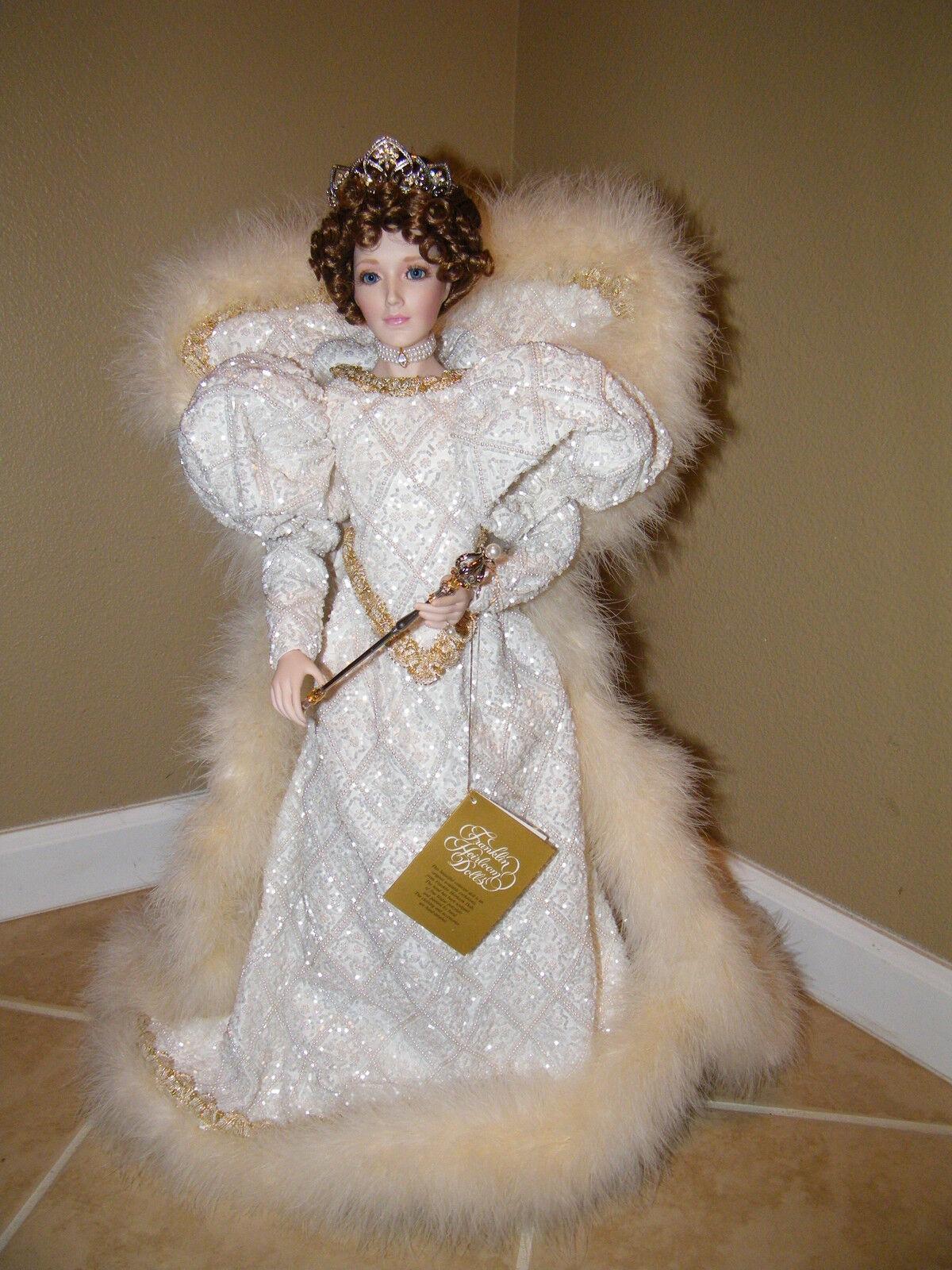 Tatiana  Princess Of Imperial Palacio De Hielo  Franklin Mint   Reliquia Muñeca 25