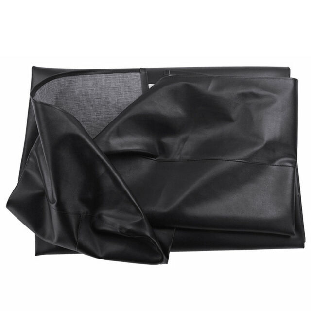 8 ft Foot Heavy Duty Fitted Leatherette Billiard Pool Table Cover Waterproof