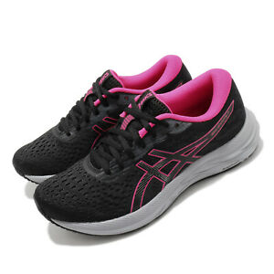 Asics-Gel-Excite-7-Black-Fuchsia-Grey-Women-Running-Shoes-Sneakers-1012A562-005