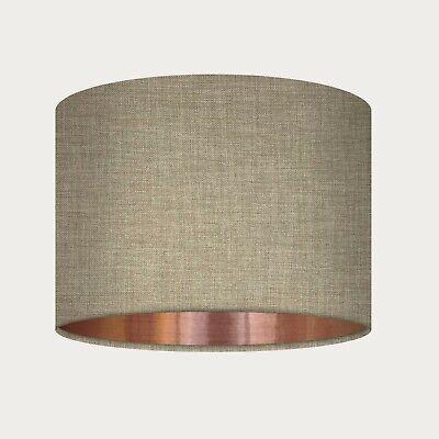 Retro Paisley Lampshade// Pendant// Ceiling Light Table Lamp Brown// Red// Cream