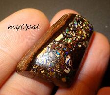 +++ Boulder Matrix Opal Cabochon - Echter australischer Opal