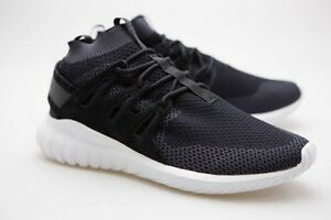 Details about Adidas Men Tubular Nova Primeknit black dark grey vintage white S80110