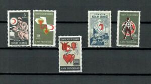 TURKEY-EUROPE-COLLECTION-RED-CRESCENT-UNLISTED-MN-USED-STAMPS-LOT-TUR-68-B