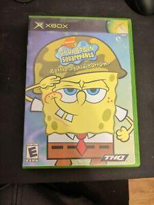 SpongeBob SquarePants Battle for Bikini Bottom Original Xbox COMPLETE CIB