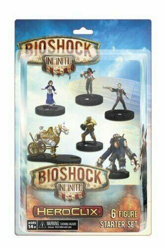 BioShock Infinite HeroClix Rare Tabletop Game Starter Set. 6 Figure Set SEALED