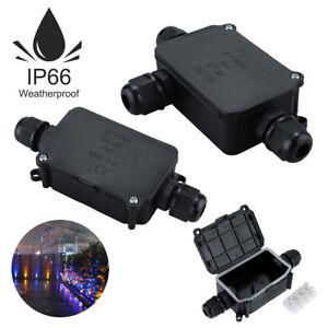 3 4 Way Outdoor Waterproof IP66 Cable Connector Junction Box 240V UK 1//2//3//5