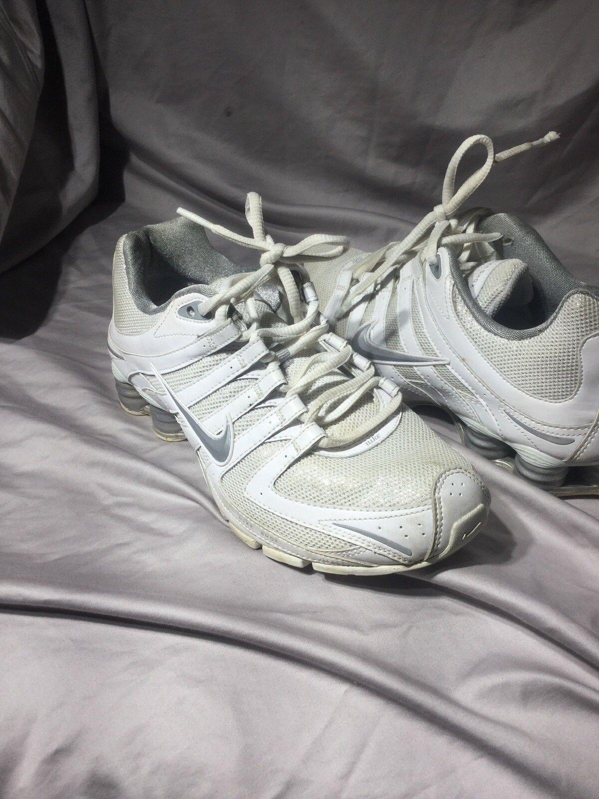 Nike glitter shox 8 noi 392868 105 bianco argentoo 2010