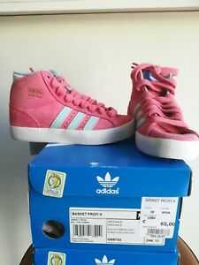 Dettagli su Scarpe Adidas BASKET PROFI K G95733 bambina