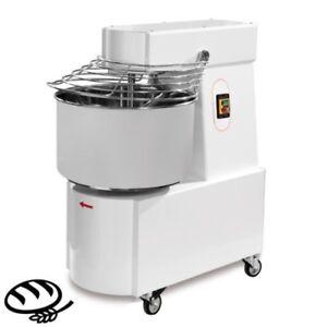 Teigknet- & Teilmaschinen Teigknetmaschine Spiralkneter Ideal Für Bäckereien 48l 42kg 230v Gastlando Gastro & Nahrungsmittelgewerbe