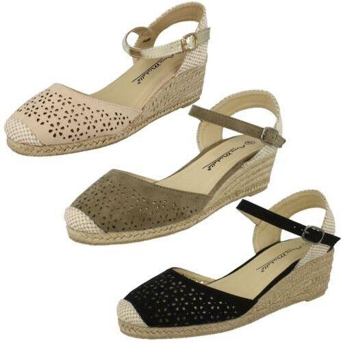 Man's/Woman's Ladies Anne Michelle design Open Back 'Sandals' Beautiful design Michelle Latest styles Seasonal promotion a88fee