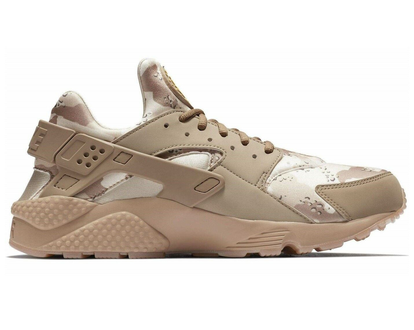 Nike Air Huarache Run Desert Camo Mens AT6156-200 Ochre Canteen Shoes Size 11