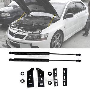 Fairlady Z 350Z Z33 Bonnet Hood Gas Strut Shock Damper Kit Fit For Nissan