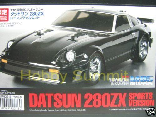 Tamiya 1/12 R/C  DATSUN  280ZX  Sport Version  M05 Chassis  Ltd Edition  # 92213