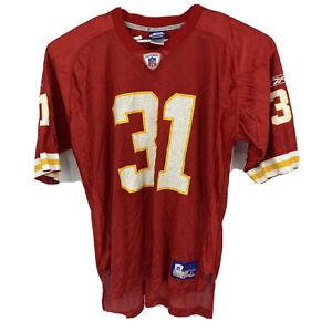 Details about REEBOK On Field NFL Jersey Kansas City Chiefs #31 Priest HOLMES Size XL