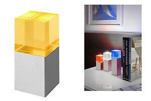 Mini-LED-eclairage-de-table-avec-Filtres-couleur-Changeur-Carre-Lampe-decorative