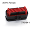 Car Connector ECU Female//Male 8//14//23//35 Pin Waterproof Terminal Plug Socket Kit