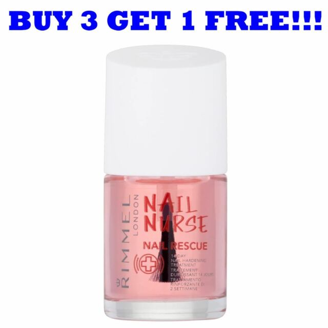 Rimmel Nail Nurse Rescue 14 Day Hardening Treatment 12 ml | eBay