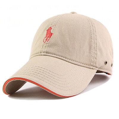 New Outdoor Unisex Men Womens Golf Casual Sun Cotton Hat Adjustable Baseball Cap
