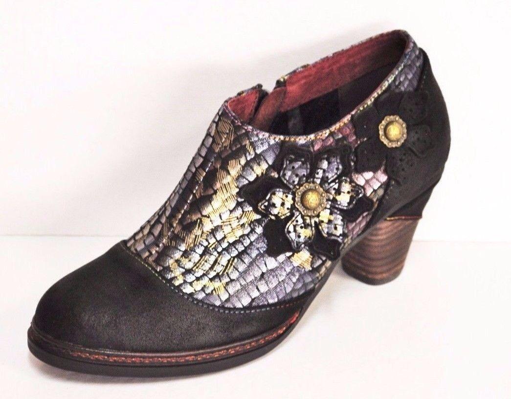 Cómodo y bien parecido Grandes zapatos con descuento chaussure laura vita réf alizee 70 noir du 36 au 41