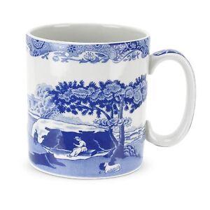Bon CœUr Spode Blue Italian Mug 0.25 L-afficher Le Titre D'origine