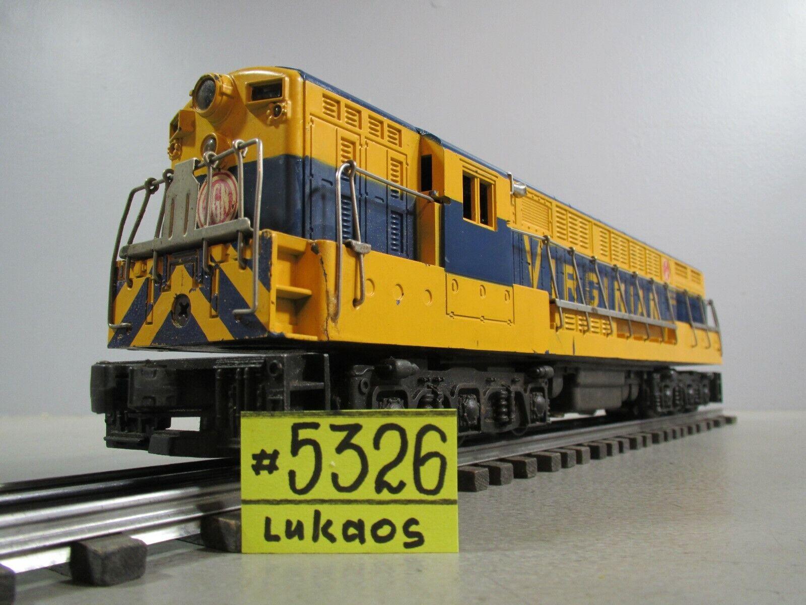 Lionel Nº 2331 Comun fm Trainmaster probado funciona bien hacia adelante & Reverce