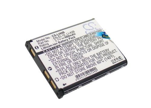 Reino Unido Batería Para Nikon Coolpix S210 Coolpix S220 En-el10 3.7 v Rohs