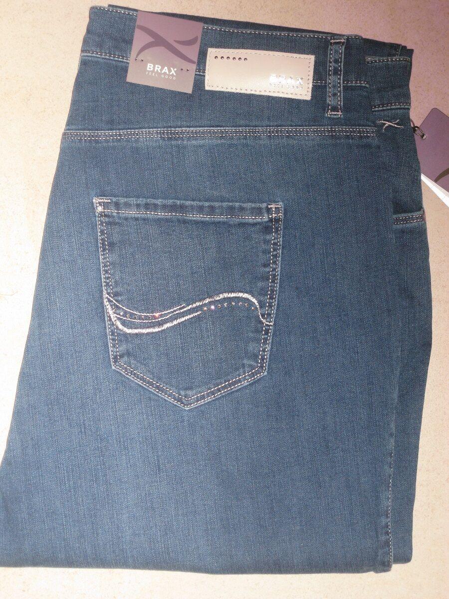 BRAX Jeans Stretchjeans Mary Brillant Sommer Denim jeansblau NEU