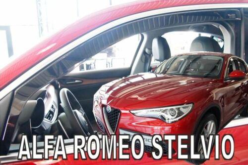 2 Deflettori Aria Antiturbo Alfa Romeo STELVIO 2017 in poi 5 porte