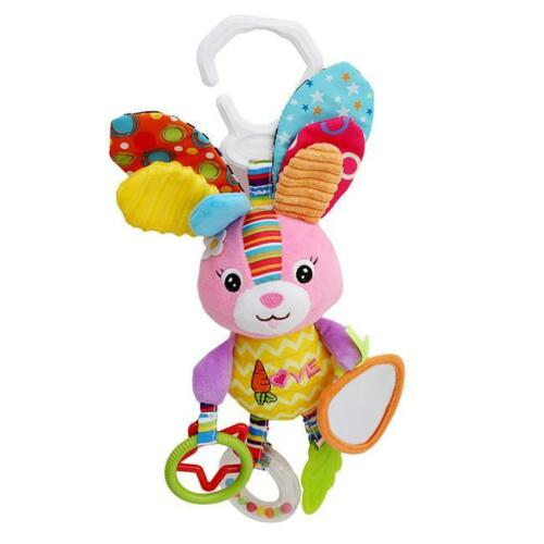 Baby See /& Sounds Activity Toy Rattle /& Teether Cot Pram Pushchair Toys RU