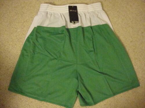 Verde /& Bianco Calcio Pantaloncini da vandanel BNWT L // XL