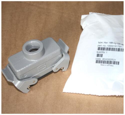 HARTING HAN 16 HAN E Kupplungsgehäuse M25 19300161731 Kupplung 16B-kg-QB NEU