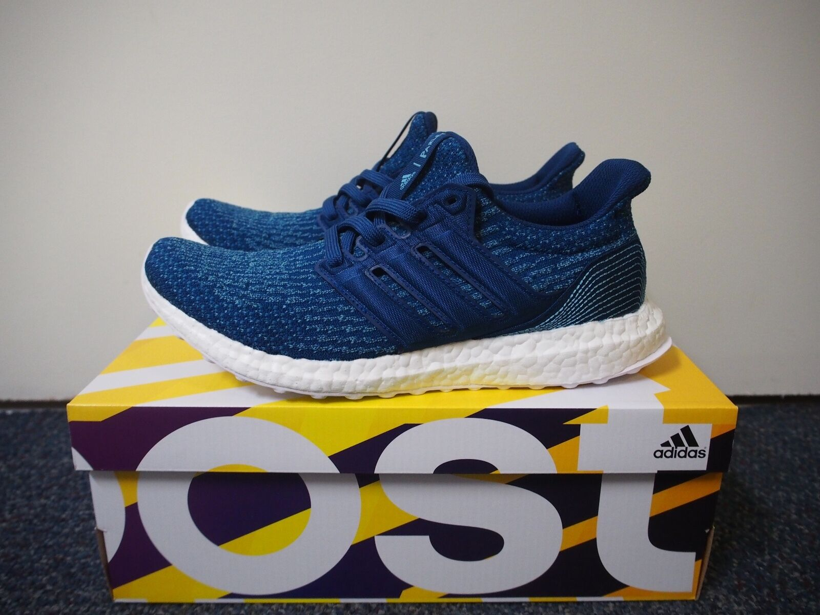 adidas ultra boost 3.0 parley Blue 100% authentic brand new US 8.5