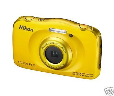 Nikon W100 Nikon W100 Camera Point & Shoot Camera --- (Yellow)