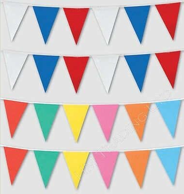 Bunting Flags Banner Party Sports School Event Home Garden Decoration 16ft Long